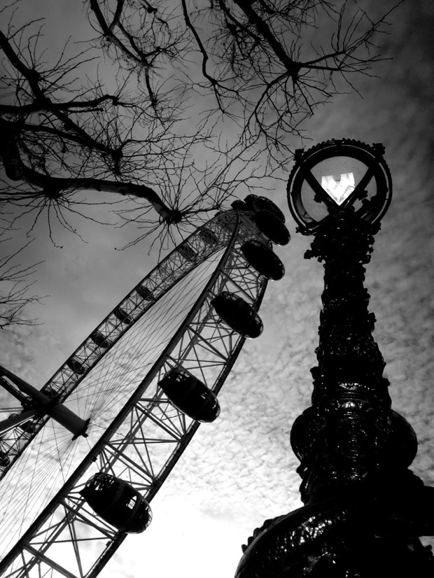 Millenium Wheel 2012 02 24 BW