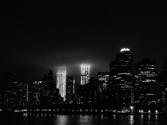 Manhattan Night Sky 02