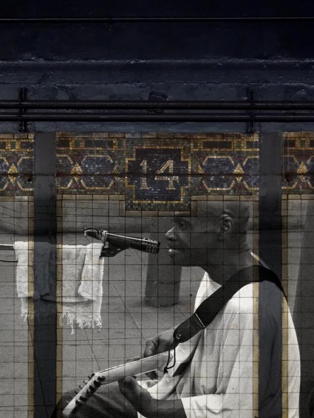 Subway Musician NY 01